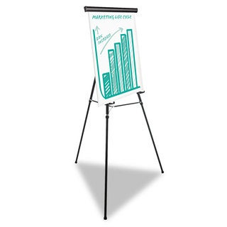 Universal One Black Heavy Duty Presentation Easel