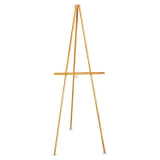 Quartet Natural Oak Lightweight Tripod Floor Easel