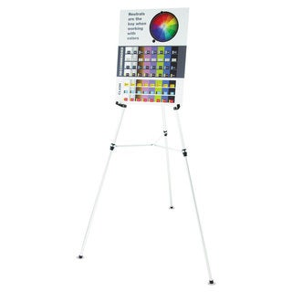 Quartet Silver Heavy-Duty Telescoping Tripod Easel