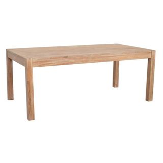 Wichita Rustic Brown Rectangle Dining Table