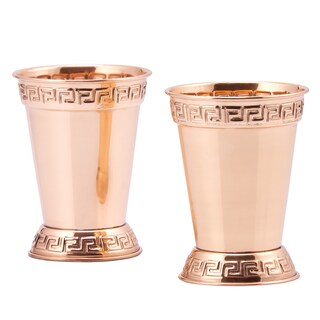 Old Dutch 12-ounce Mint Julep Cups (Set of 2) (Option: Solid Copper Mint Julep Cups (Set of 2))