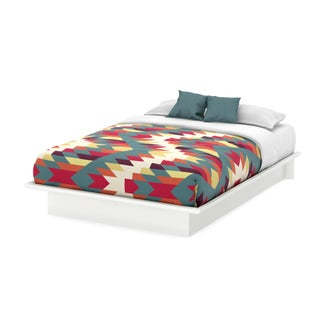South Shore Step One Queen Platform Bed (60) (4 options available)