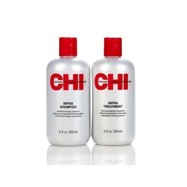 Shop Chi Infra Shampoo And Treatment 12 Ounce Duo Set