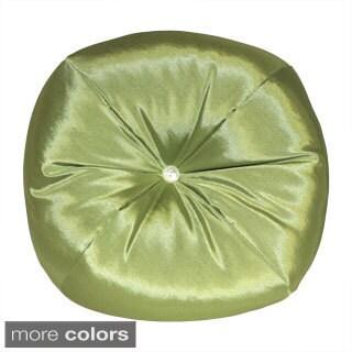 Taffeta Apple Round Decorative Pillow (4 options available)