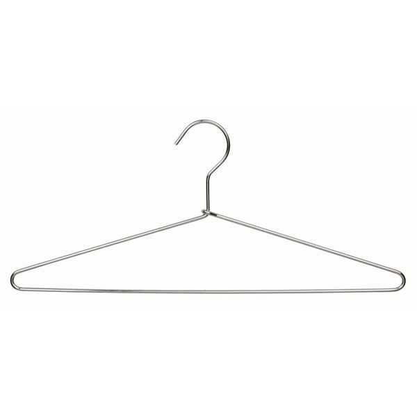 Polished Chrome Metal Suit Hanger (Box of 25)