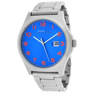 Marc Jacobs Men's MBM5058 Jimmy Round Silvertone Bracelet Watch|https://ak1.ostkcdn.com/images/products/10129181/P17266729.jpg?impolicy=medium