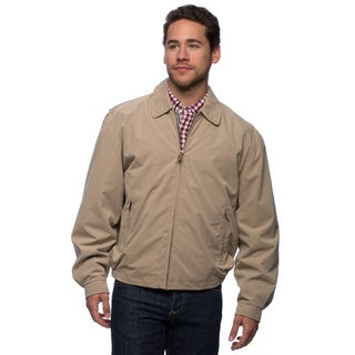 London Fog Men's Microfiber Golf Jacket