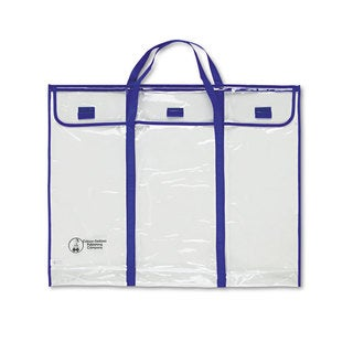 Carson-Dellosa Publishing Blue/Clear Bulletin Board Storage Bag
