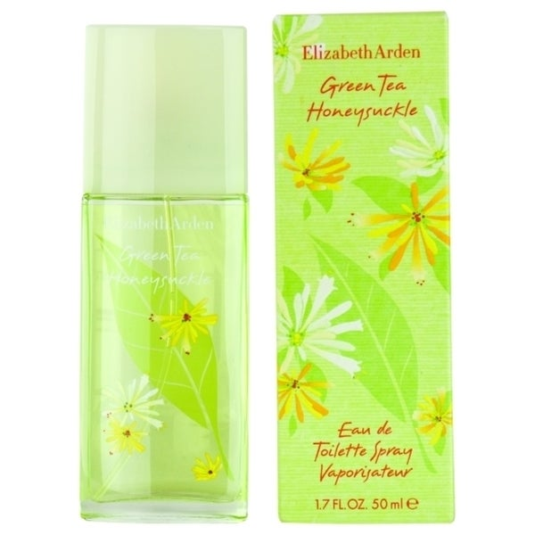 2c596b3e87a2 Shop Elizabeth Arden Green Tea Honeysuckle Women's 1.7-ounce Eau de Toilette  Spray - Free Shipping On Orders Over $45 - Overstock - 10129398