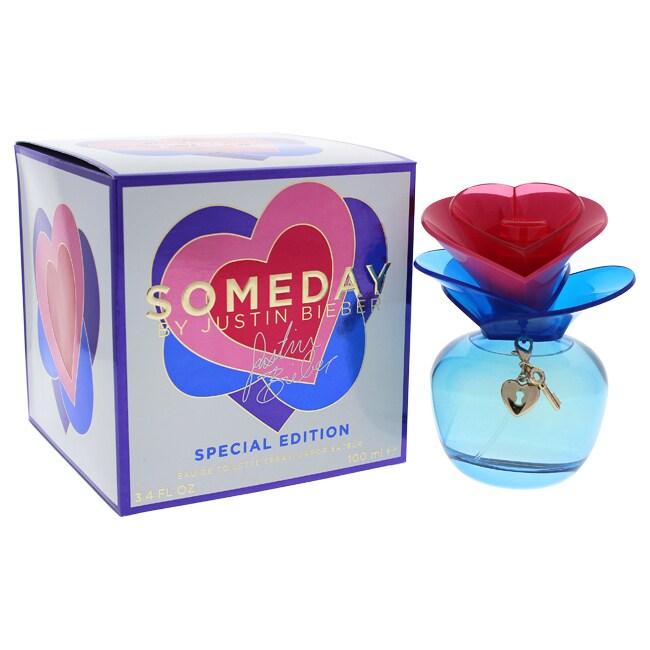Justin Bieber Someday 3.4-ounce Women's Eau de Toilette S...