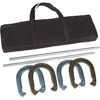 Trademark Innovations Gold/ Silver Pro Horseshoe Set