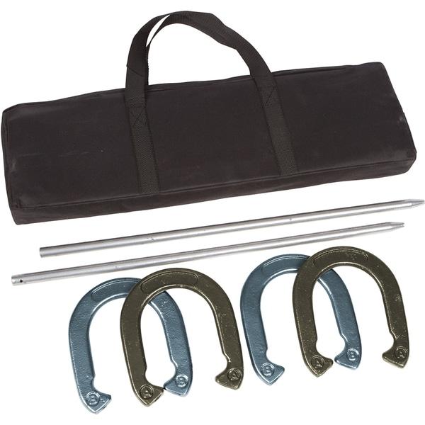 Trademark Innovations Gold/ Silver Pro Horseshoe Set