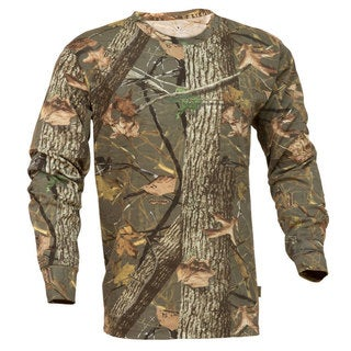 King's Camo Classic Woodland Shadow Long Sleeve Hunting Tee