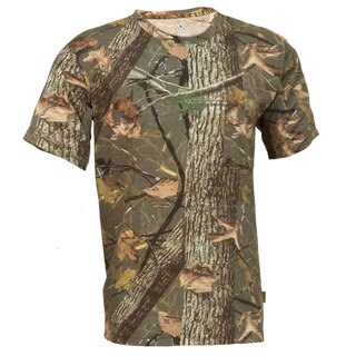 King's Camo Classic Woodland Shadow Short Sleeve Hunting Tee