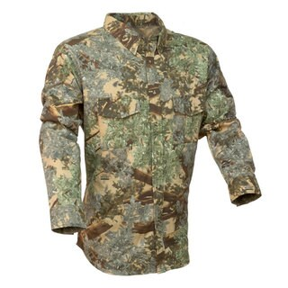 King's Camo 100-percent Cotton Classic Button Up Shirt