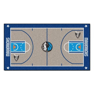 Fanmats Machine-made Dallas Mavericks Grey Nylon Large Court Runner (2'4 x 4'5)|https://ak1.ostkcdn.com/images/products/10130758/P17268043.jpg?impolicy=medium