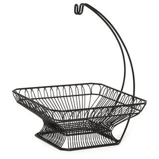 Gourmet Basics by Mikasa French Countryside Fruit Basket With Banana Hanger