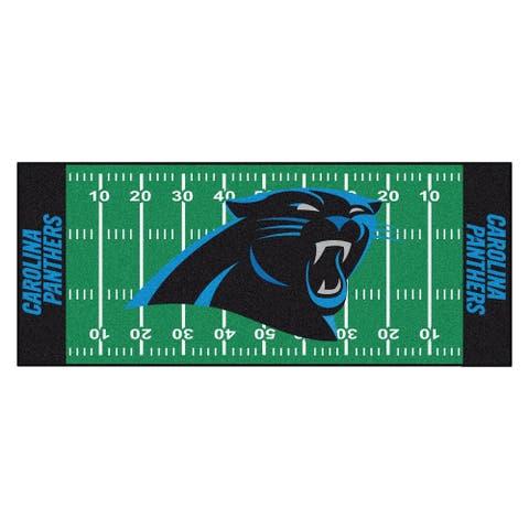 "FANMATS NFL - Carolina Panthers Football Field Runner 30""x72"""