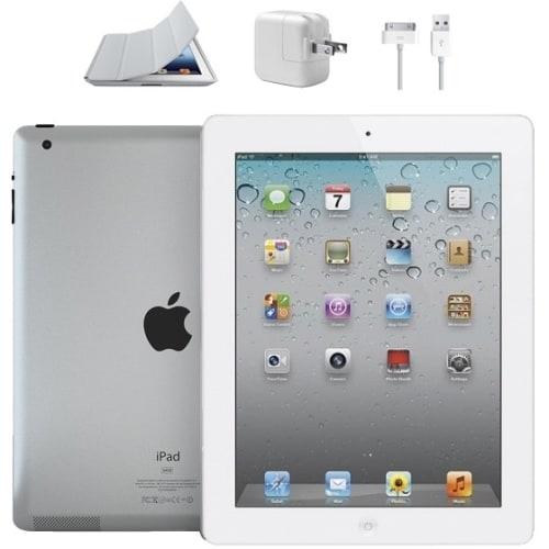 Refurbished Apple iPad 2, 16GB, WiFi, White, 1 Year Warranty