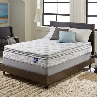 serta extravagant pillowtop kingsize mattress set