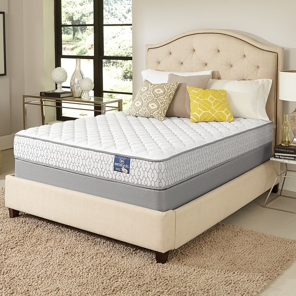 shop serta extravagant firm full size mattress set free shipping today overstock 10130963. Black Bedroom Furniture Sets. Home Design Ideas