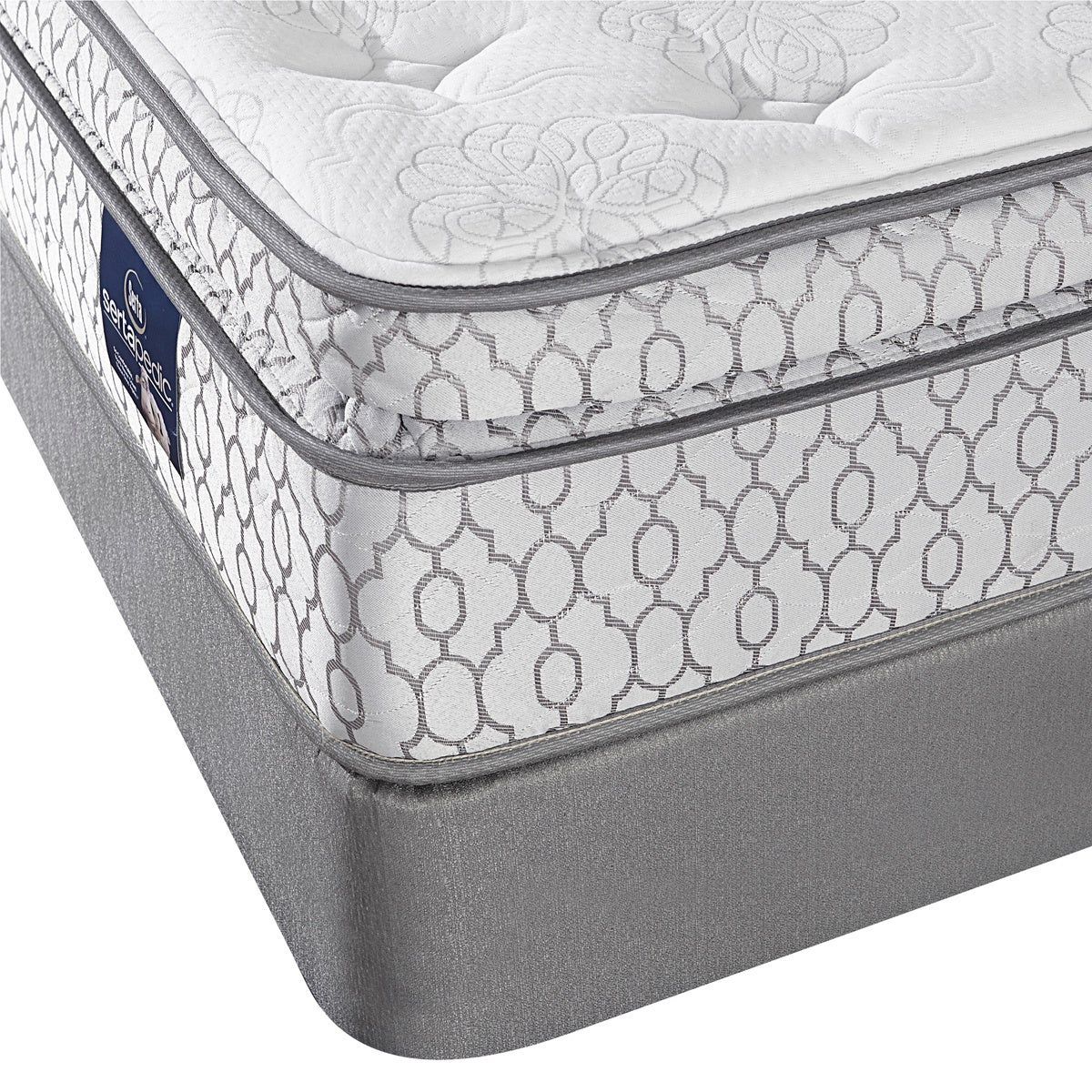 Serta Amazement Pillow Top Queen-size Mattress Set (Queen...