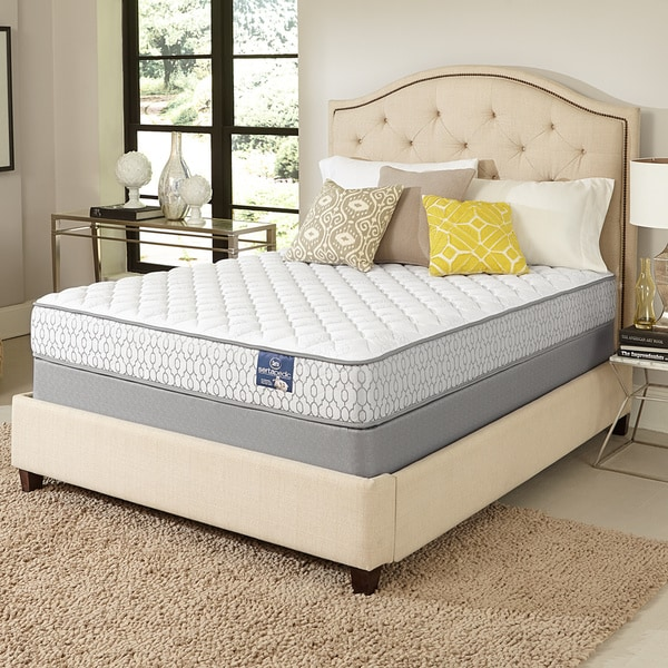 serta amazement firm queen size mattress set free shipping today overstock 17268239. Black Bedroom Furniture Sets. Home Design Ideas
