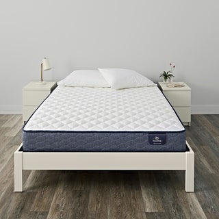 Serta Chrome Firm Queen-size Mattress Set