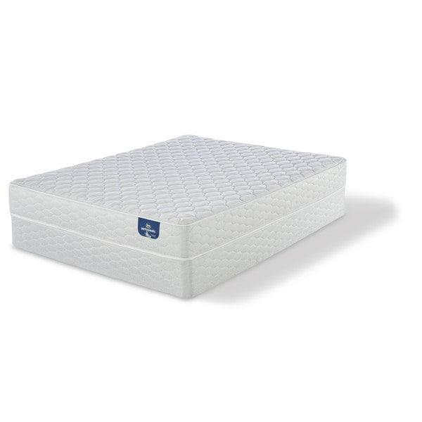 Serta Chrome Firm Full-size Mattress Set - Free Shipping Today -  Overstock.com - 17268261 - Serta Chrome Firm Full-size Mattress Set - Free Shipping Today