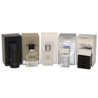Giorgio Armani Variety Men's 5-piece Gift Set