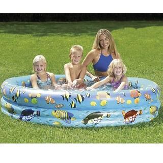 Sunsplash 70x14-inch Inflatable Aquarium Pool