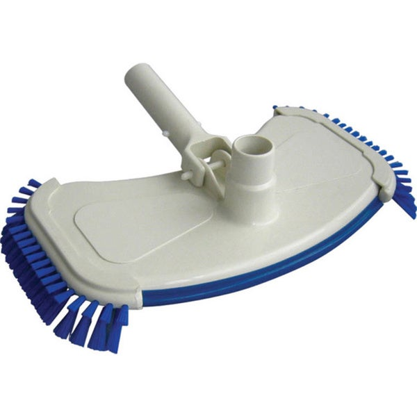 Robelle Large Weighted Vacuum Head with Side Brushes