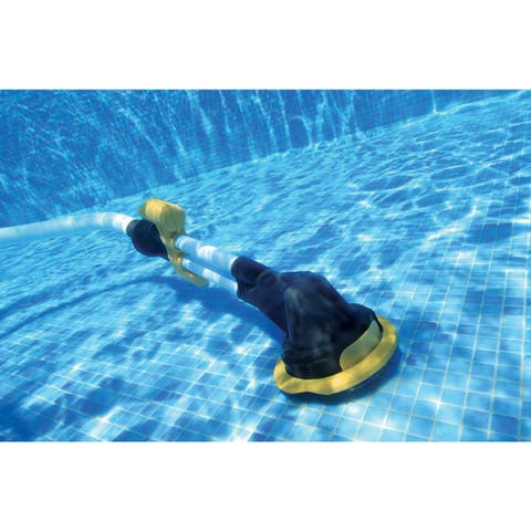 Zappy Auto Pool Cleaner for Swimming Pools with Low Flow Pumps - Black