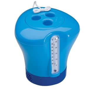 Ocean Blue Chemical Dispenser/Thermometer Combo|https://ak1.ostkcdn.com/images/products/10131221/P17268552.jpg?impolicy=medium