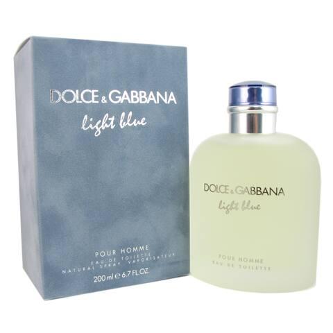 Dolce & Gabbana Light Blue Men's 6.7-ounce Eau de Toilette Spray