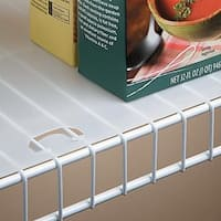 Shelf Liner for Wire Shelving 12-inches deep - 10 foot roll
