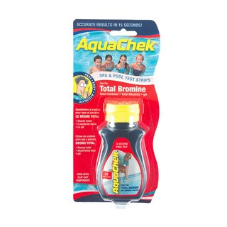 AquaChek Red Total Bromine Test Strips for Swimming Pools