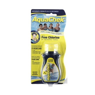 AquaChek Spa 6-in-1 Test Strips for Spas and Hot Tubs
