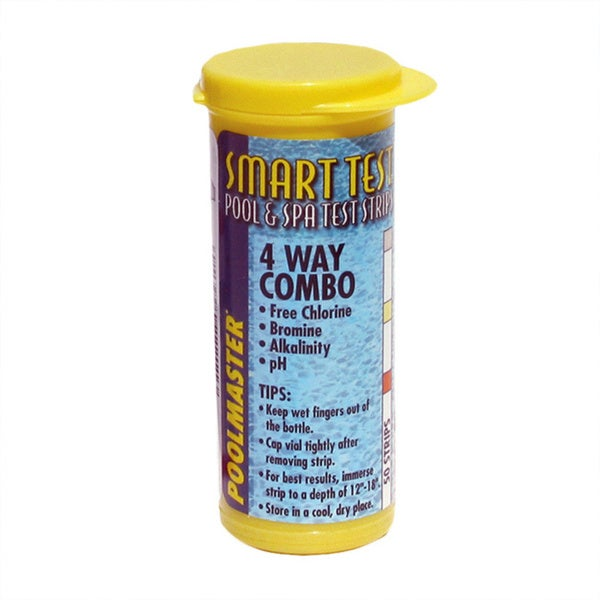 4-Way Test Strips for Swimming Pools