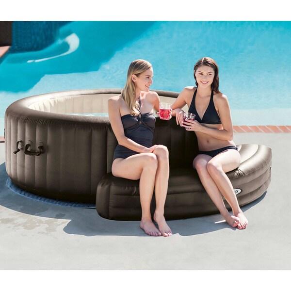 PureSpa Inflatable Bench For 28421E, 28422E, 28423E & 28424E - Brown