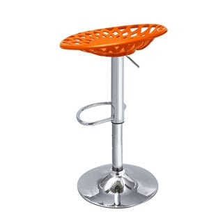 Adeco Mexico-Inspired Adjustable Swivel Bar Counter Stools (Set of 2)