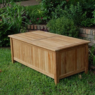 Palmsprings Collection Teak Storage Box