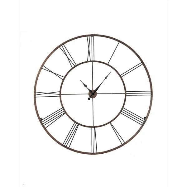 Shop Midwest Cbk Roman Numeral Wall Clock Free Shipping