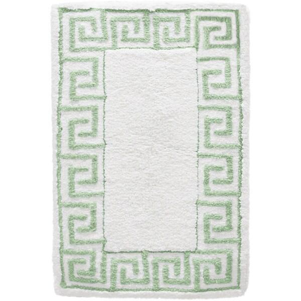 Geometric Cotton Milton Jacquard Flat Rug (21 x 34)