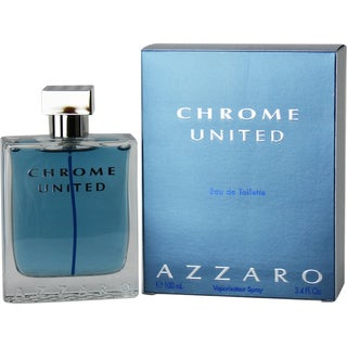 Loris Azzaro Chrome United Men's 3.4-ounce Eau de Toilette Spray