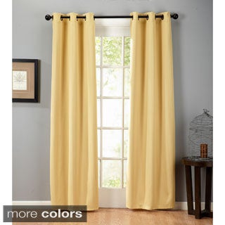Home Fashion Designs Amira Collection Blackout Grommet Curtain Panels - 38 inches x 84 inches - 2-Panel Set