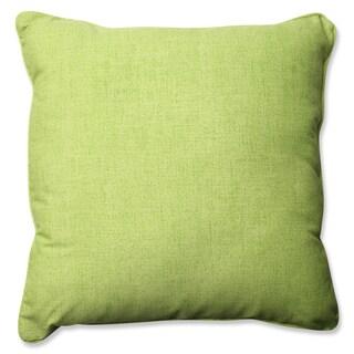 Pillow Perfect Outdoor/ Indoor Baja Linen Lime 23-inch Floor Pillow