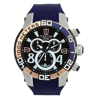 MULCO Unisex MW1-74197-044 Analog Display Swiss Quartz Blue Watch