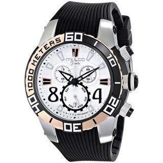 MULCO Unisex MW1-74197-021 Analog Display Swiss Quartz Black Watch