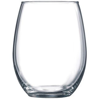 Winco 15-Ounce Gem Stemless Wine Glasses